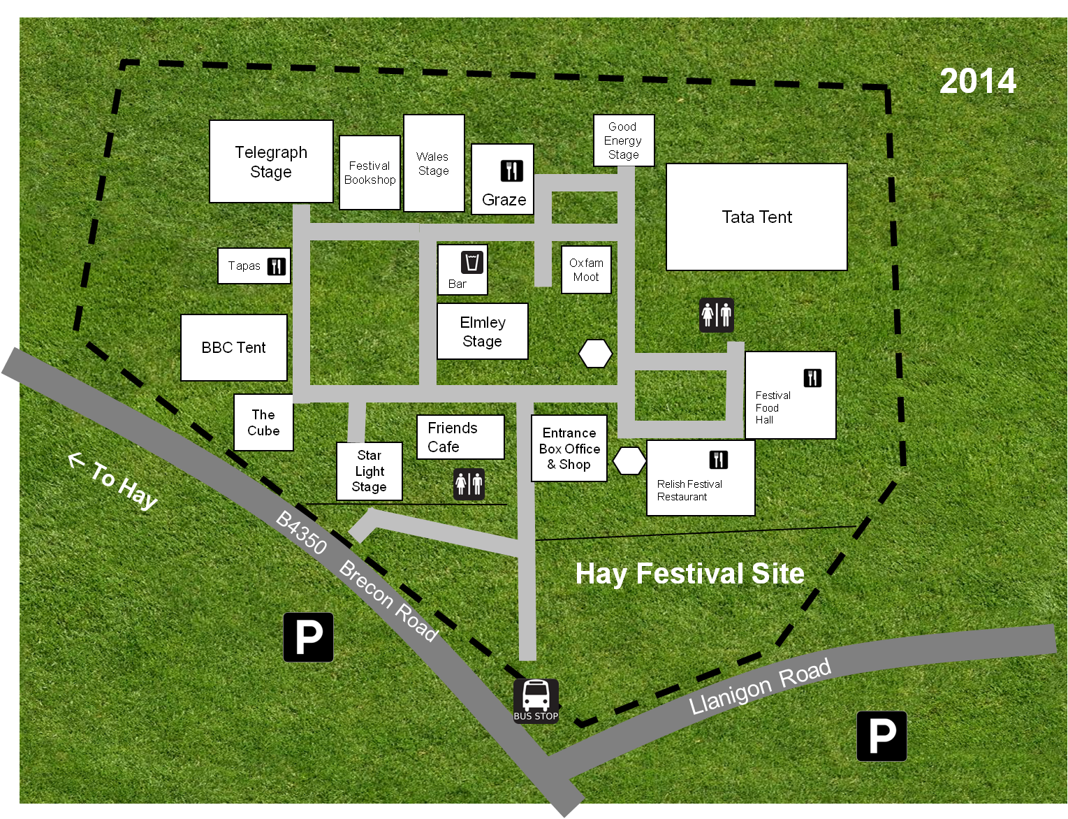 Site Map 2014 Making Hay At The Hay Festival