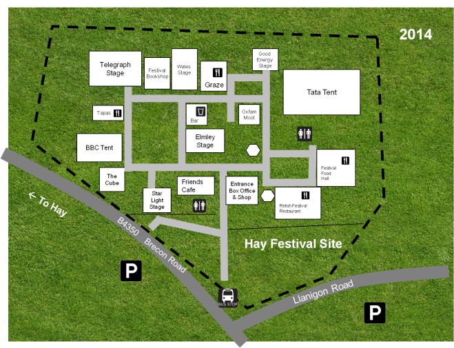 Hay Festival site 2014